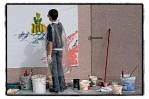 Sprizzi Spruzzi e Sprazzi di creatività. Foto di Roberto Cavalli